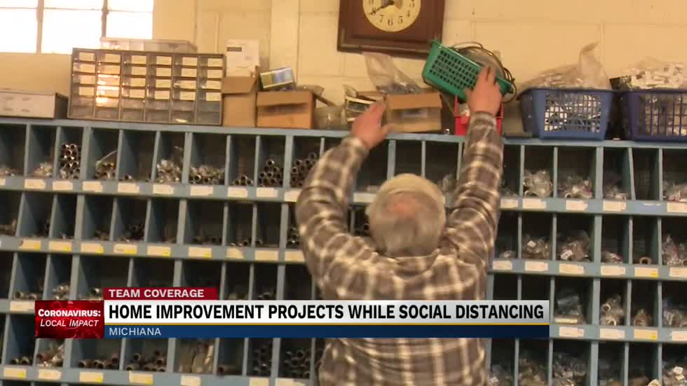 Home improvement projects while social distancing