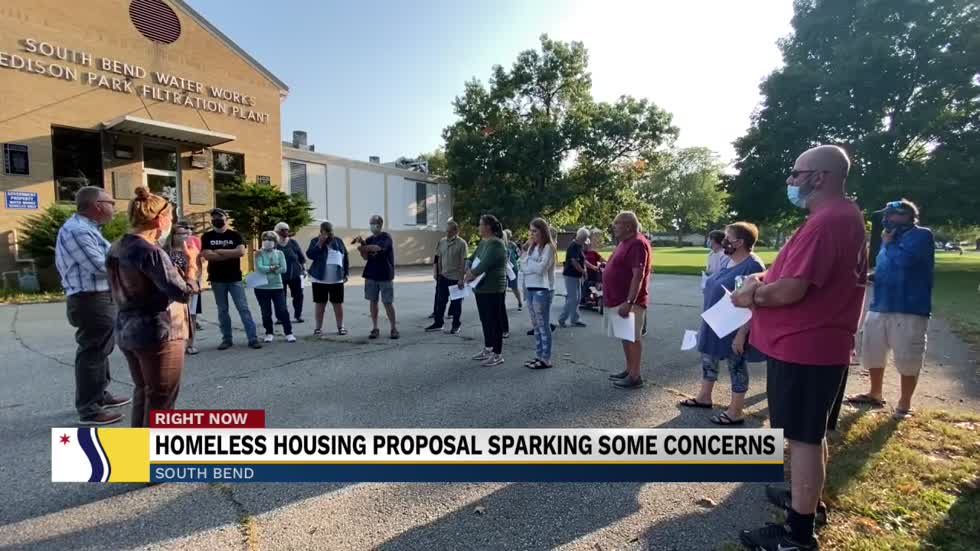 Homeless housing proposal sparking some concerns