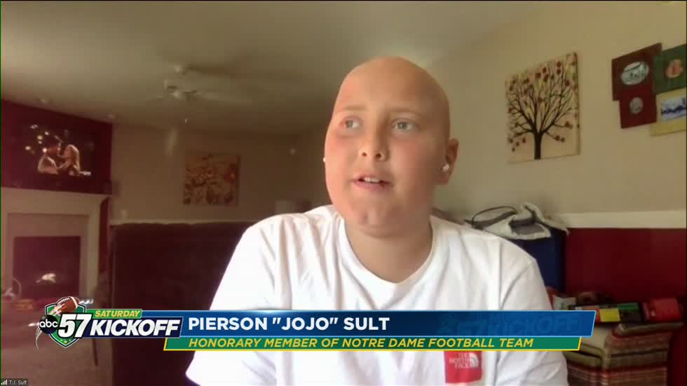 Honorary Notre Dame team member JoJo Sult's cancer battle continues