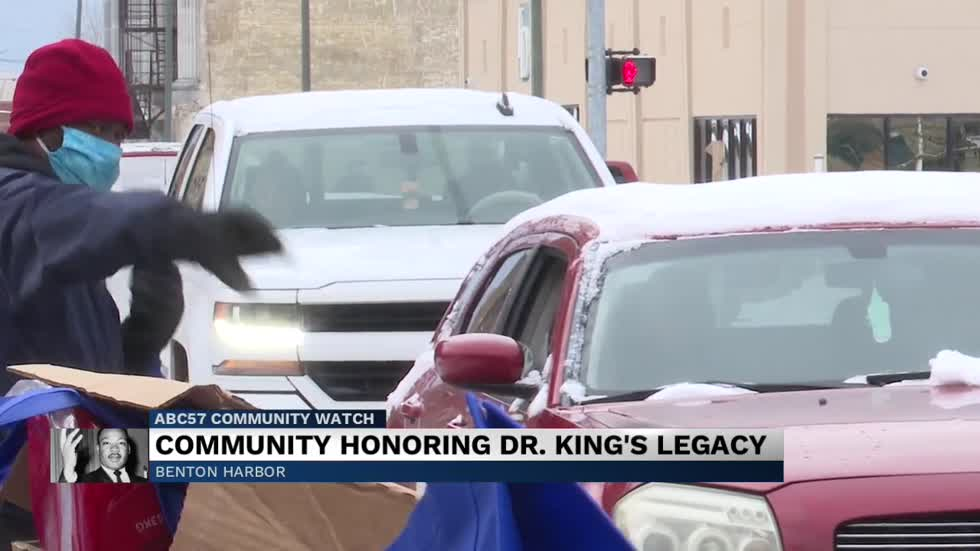 Honoring MLK Jr.'s legacy in Benton Harbor