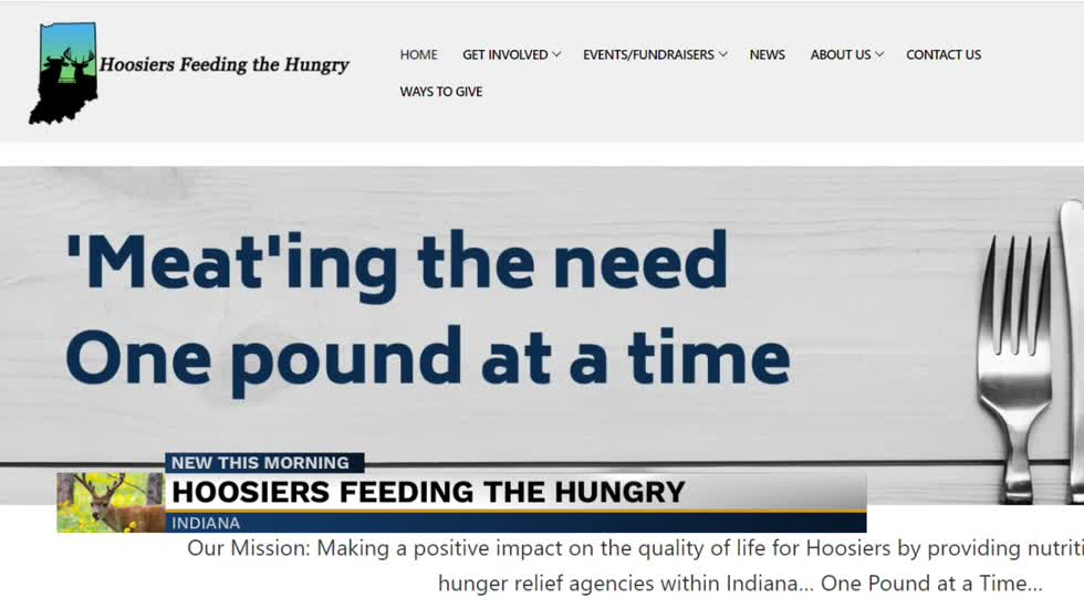 Indiana organization taking deer meat donations to feed the hungry