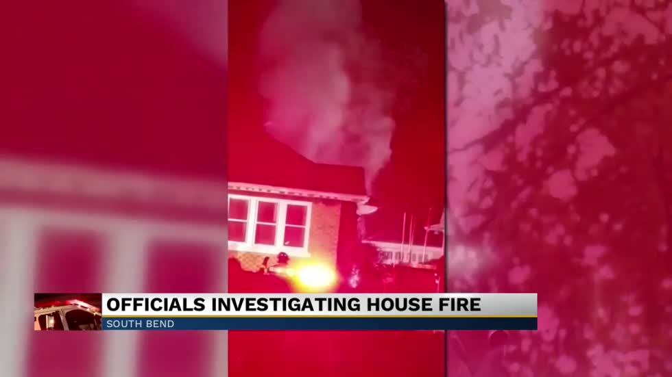 House caught fire overnight in South Bend