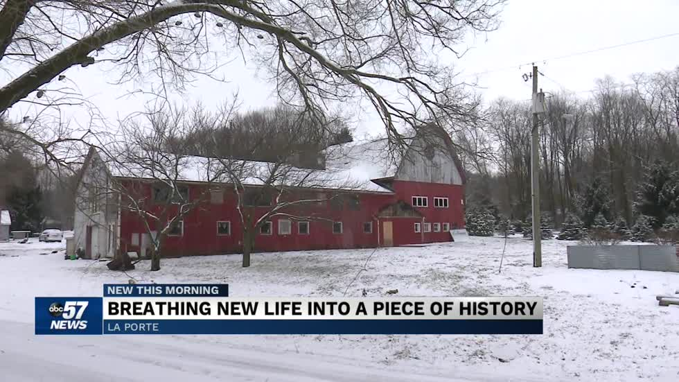 100-year-old barn unveils stories amid renovation