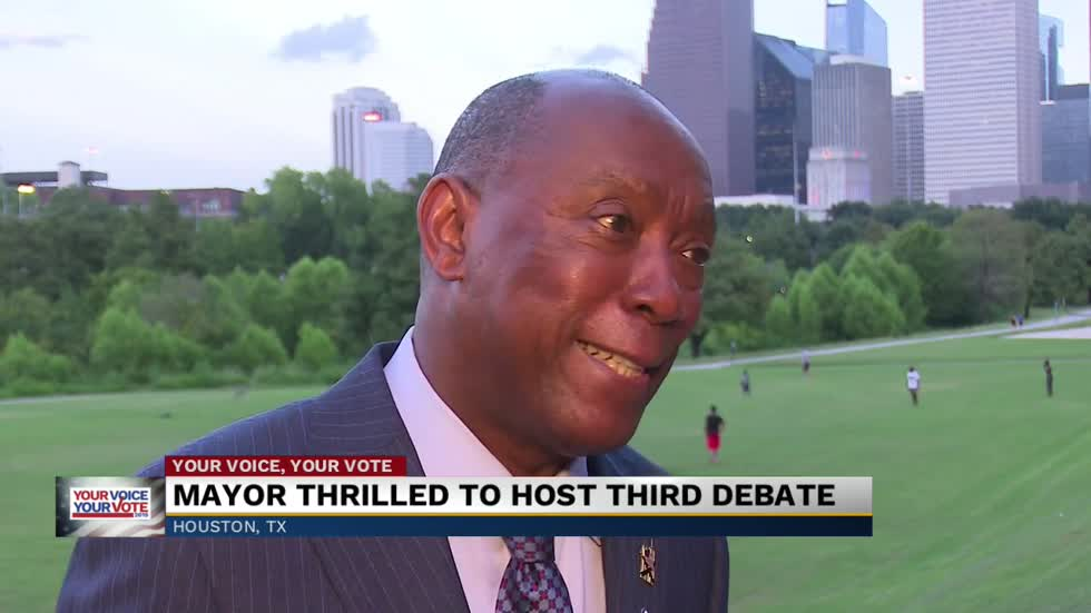 Houston Mayor excited to host third round of Democratic debates