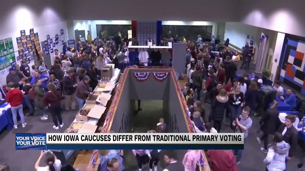 How the Iowa Caucuses differ from traditional primary polling