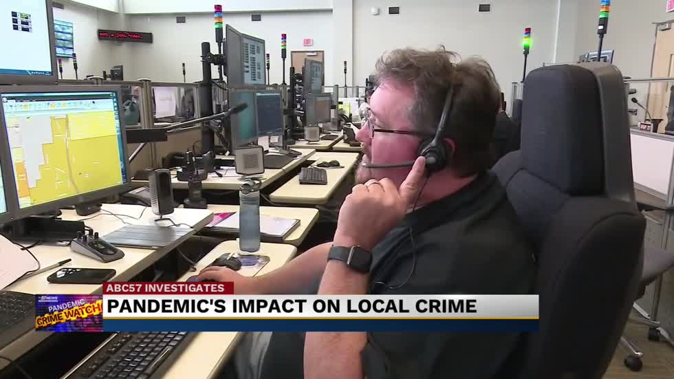 How COVID-19 has impacted Michiana crime levels, first responders