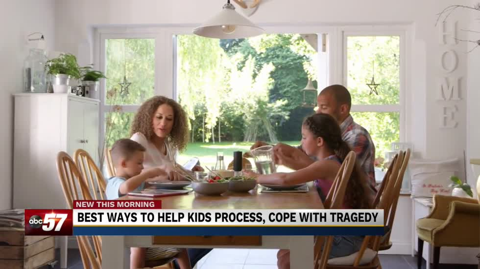 How to have an open conversation with children about tragedy