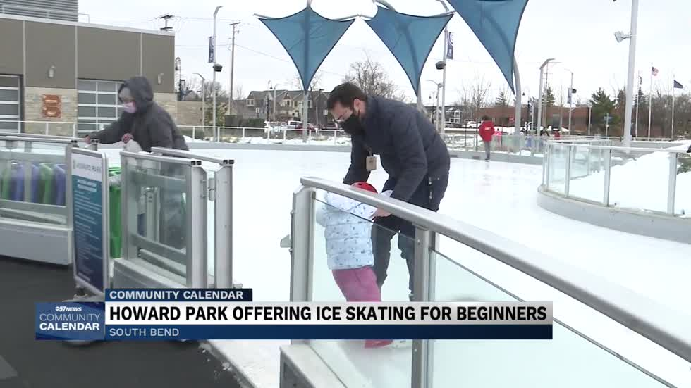 South Bend's Howard Park offers ice skating for beginners