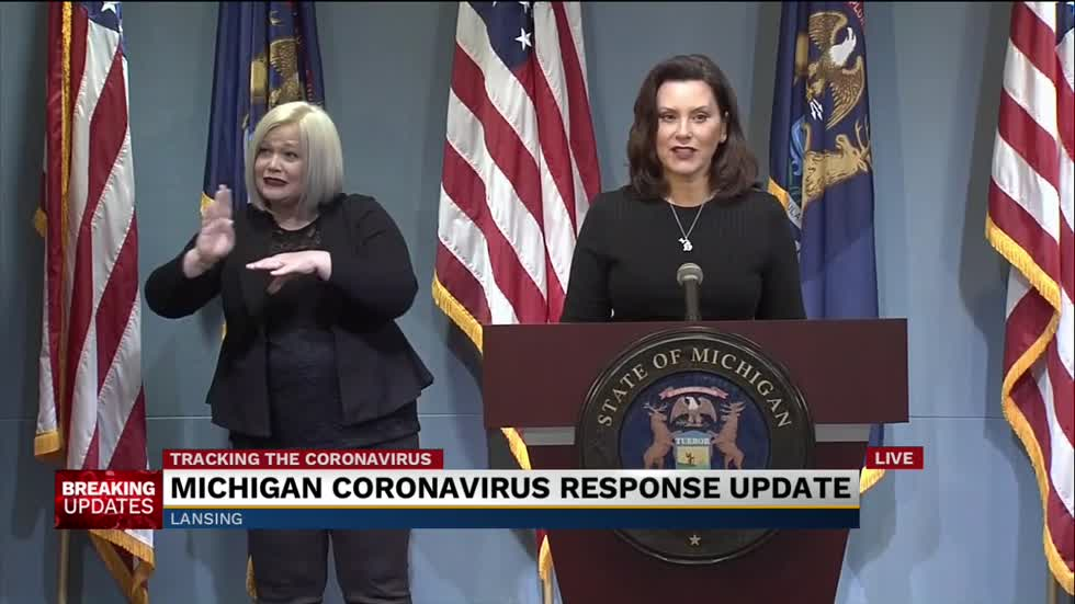 Governor Whitmer Provides Update On State S Covid 19 Response