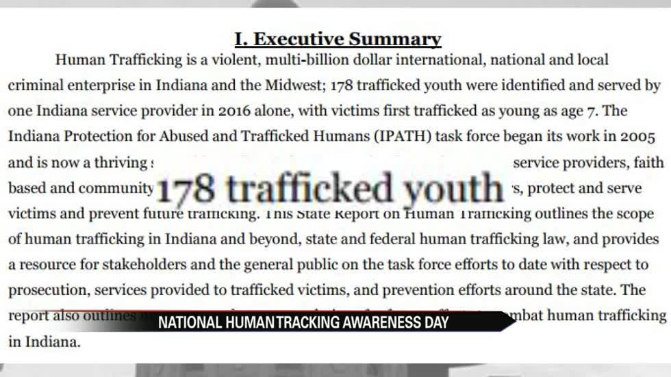 Local groups invite public to learn about human trafficking in Indiana