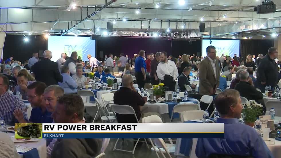 Hundreds gather for the annual RV Industry Power Breakfast