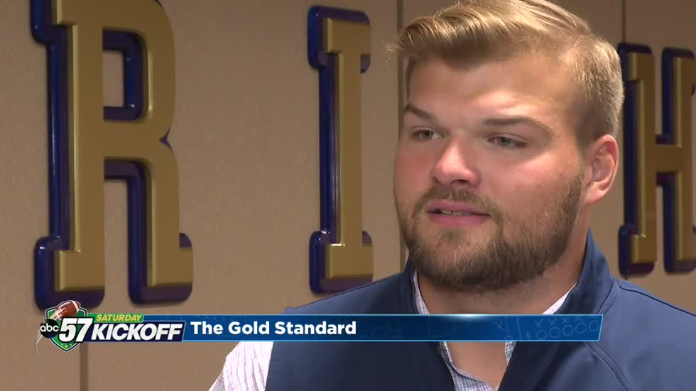Hunter Bivin sets the GOLD standard in Notre Dame football player development