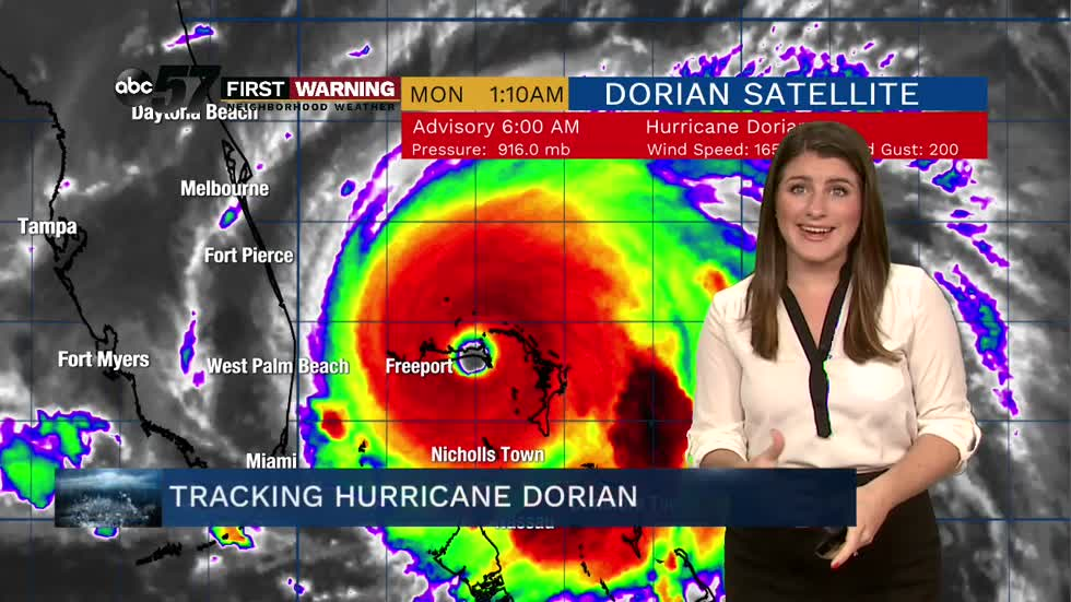 Hurricane Dorian becomes one of the strongest hurricanes on record