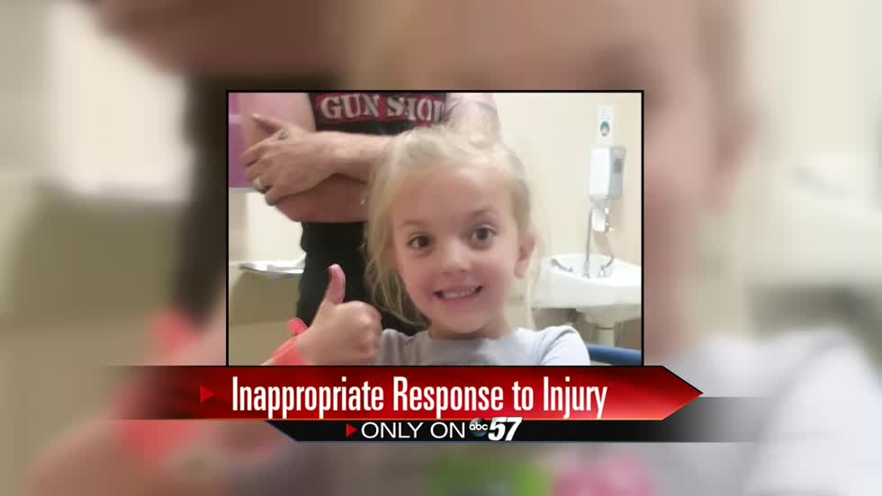 Parents say school didn't give child medical attention after 5-year-old broke arm