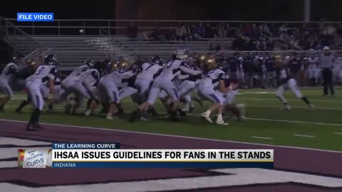 IHSAA releases COVID-19 guidelines for fall sports