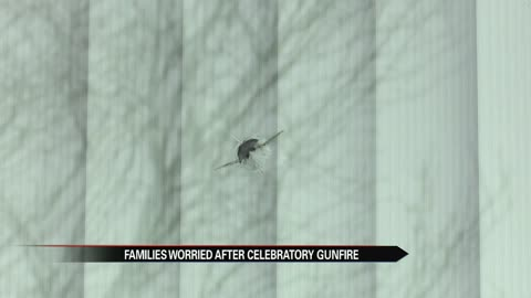 Illegal celebratory gun shots fired over New Year's Eve in South Bend