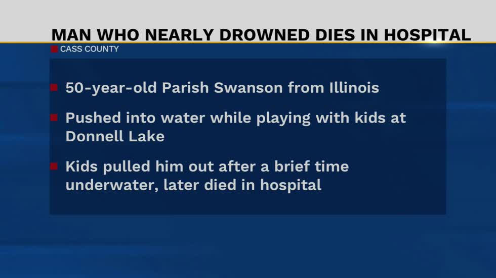 Illinois man passes away following water incident near Donnell Lake Street