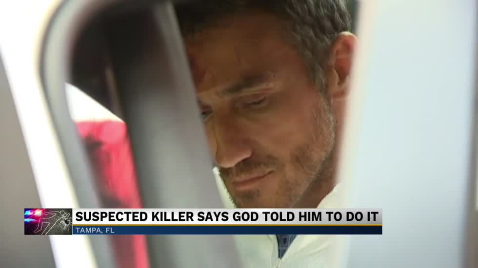 'I'm a prophet, not a serial killer': Double murder suspect claims he did it for God