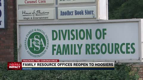 Indiana Family and Social Services Administration reopening