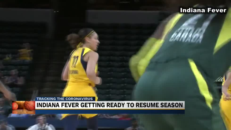 Indiana Fever hopeful ahead of Saturday return