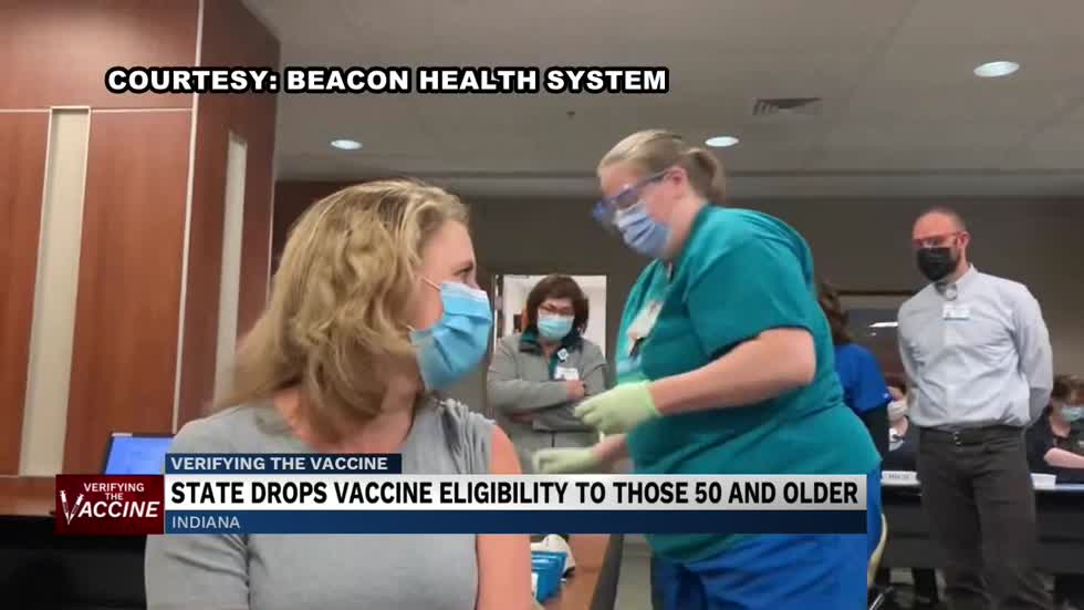 Hoosiers age 50 and older now eligible for COVID-19 vaccine
