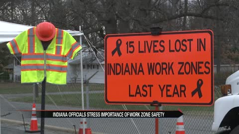 INDOT and Indiana toll roads participate in Work Zone Awareness...