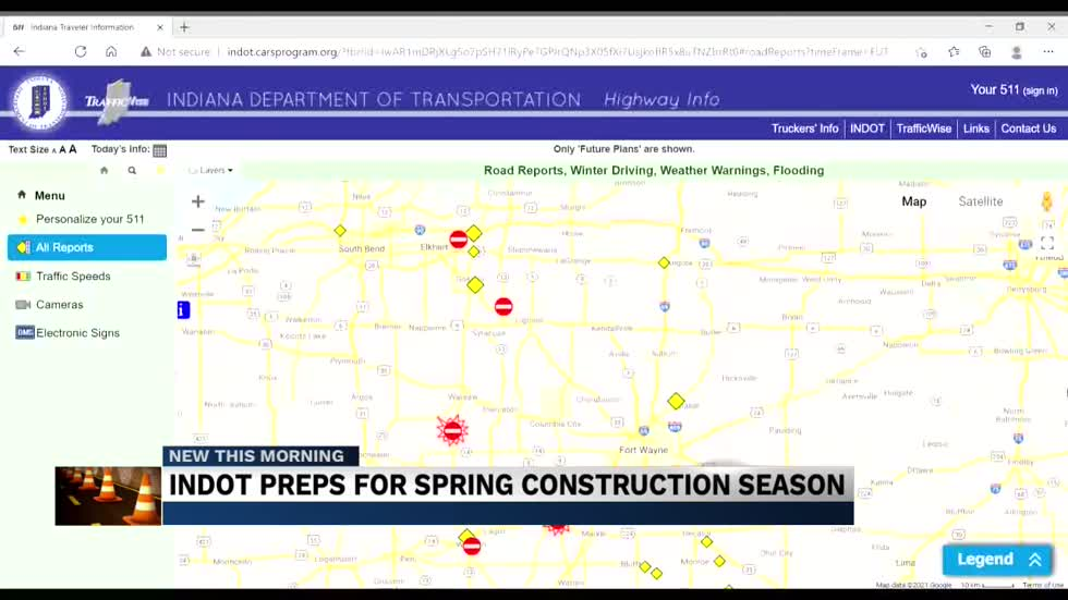 Construction projects to expect and how to drive safely this Spring