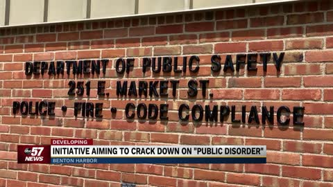 Initiative aiming to crack down on 'public disorder' in Benton...