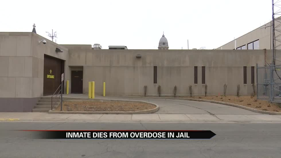 Inmate dies from overdose in jail