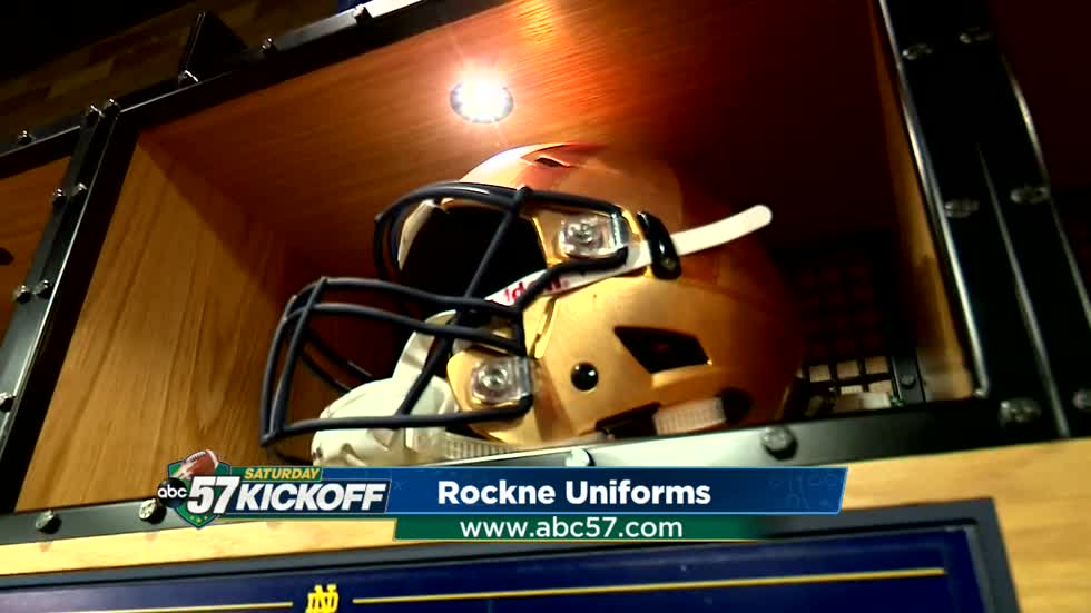 INSIDE ACCESS: An exclusive look inside the Notre Dame locker room pre-game