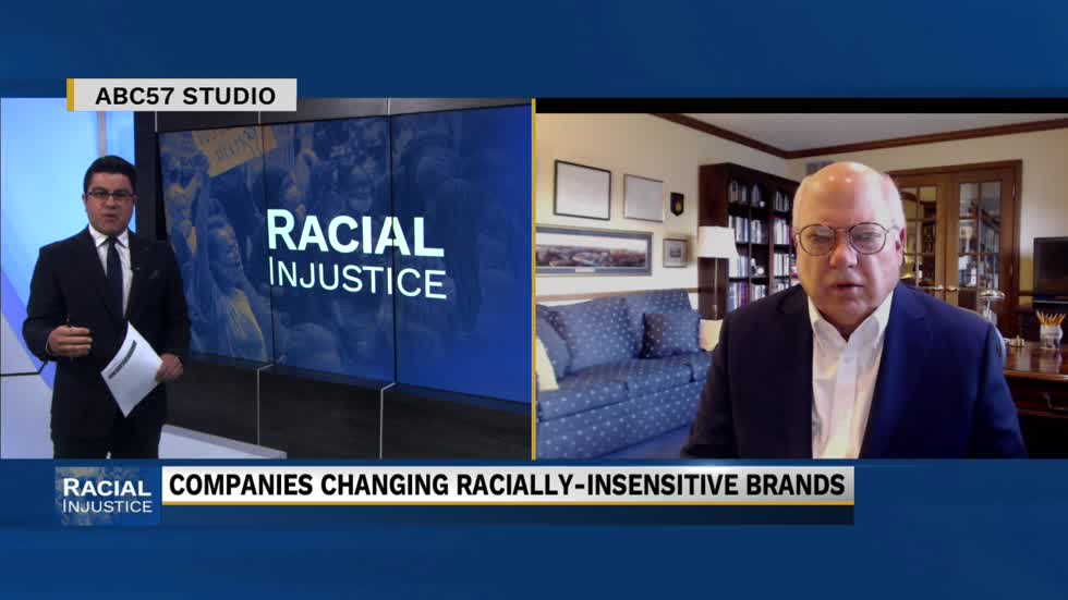 Notre Dame professor gives insight into companies changing racially-insensitive brands