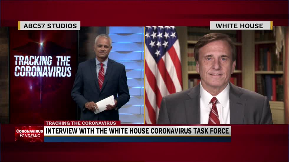 Dr. John Fleming spoke with ABC57 about the goverment's response on the Coronavirus