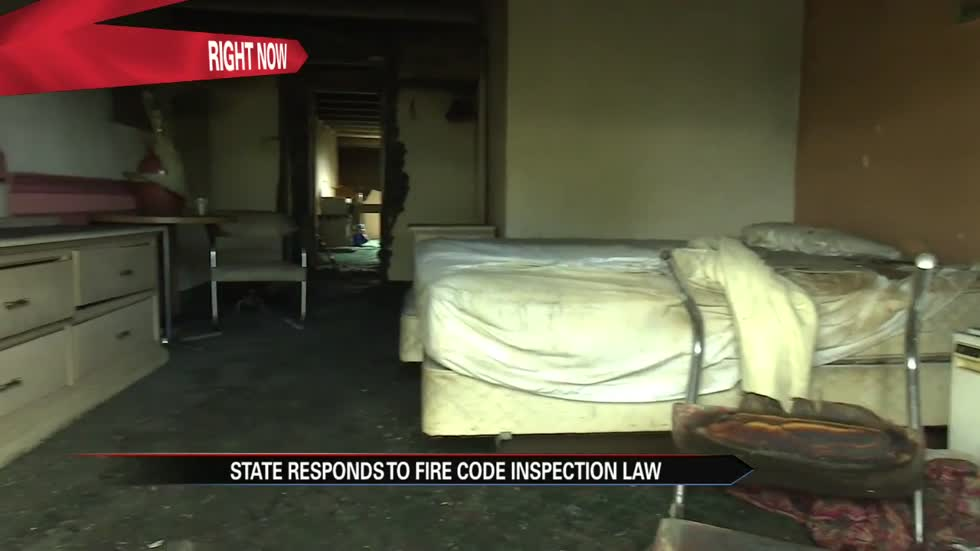 Investigation continues into deadly motel fire, no state fire code