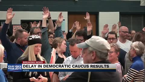 Iowa caucus results delayed due to 'inconsistencies in reporting'