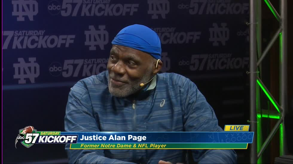 Irish Legend: Alan Page