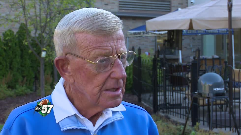 Irish Legend: Coach Lou Holtz