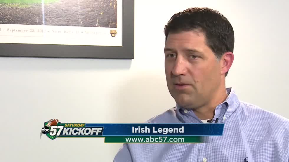 Irish Legend: Former player and current team doctor - Dr. Brian Ratigan
