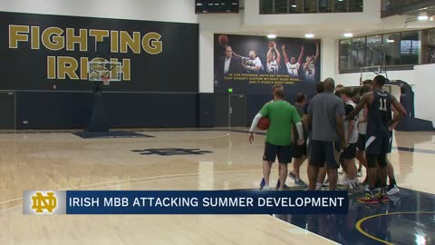 Irish men's hoops attacking summer development