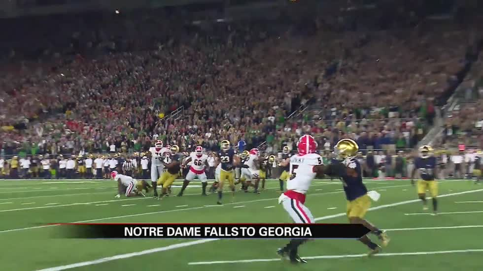 Irish players react after falling to Georgia at home