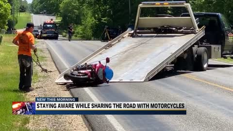 ISP remind drivers to look once for cars, look twice for motorcycles after uptick in accidents