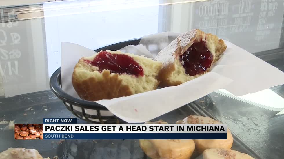It's paczki season once again, and local stores are already...