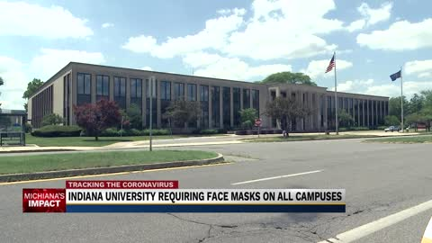 IU South Bend Chancellor comments on newly-implemented face mask...
