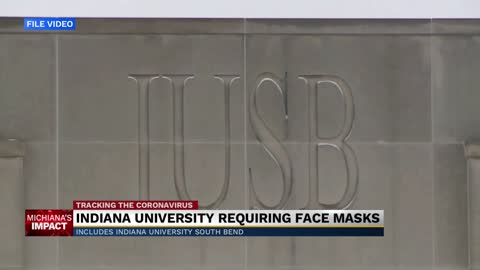 IU South Bend requiring campus-goers to wear face coverings