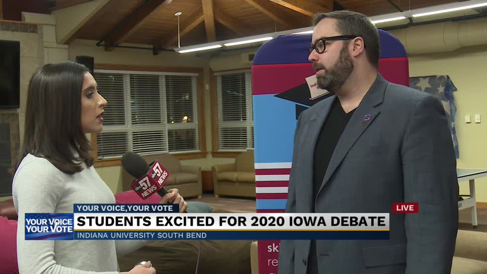 IUSB hosting watch party for final Democratic debate before Iowa