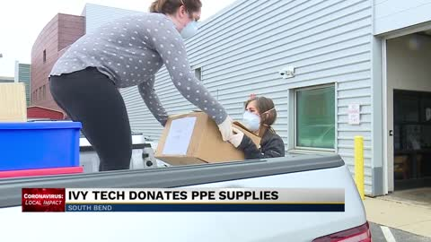 Ivy Tech donates medical supplies to health care providers