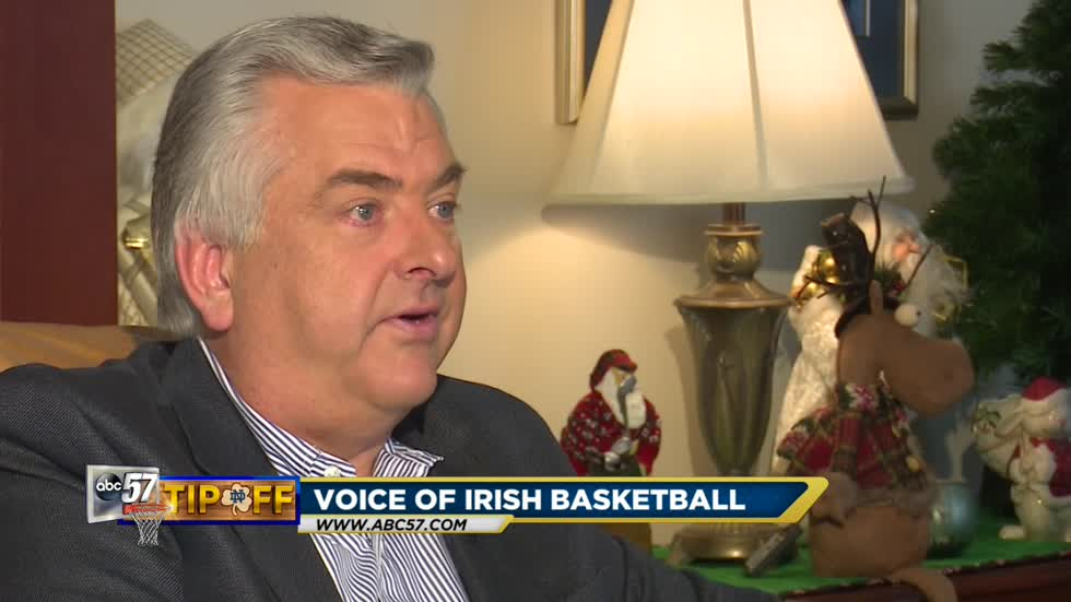 Jack Nolan lives out his dream at Notre Dame