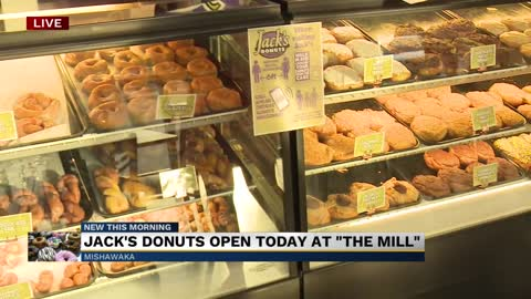 "Jack's Donuts open today at ""The Mill"" 2"