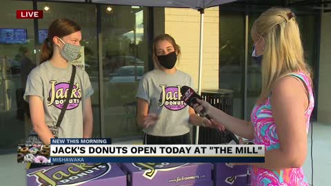 "Jack's Donuts open today at ""The Mill"" 3"