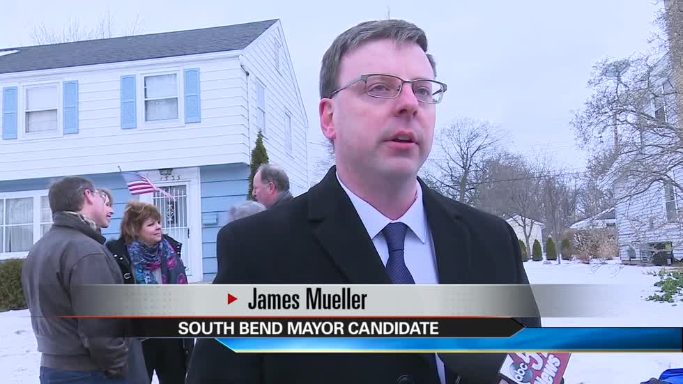 James Mueller announces candidacy for South Bend Mayor