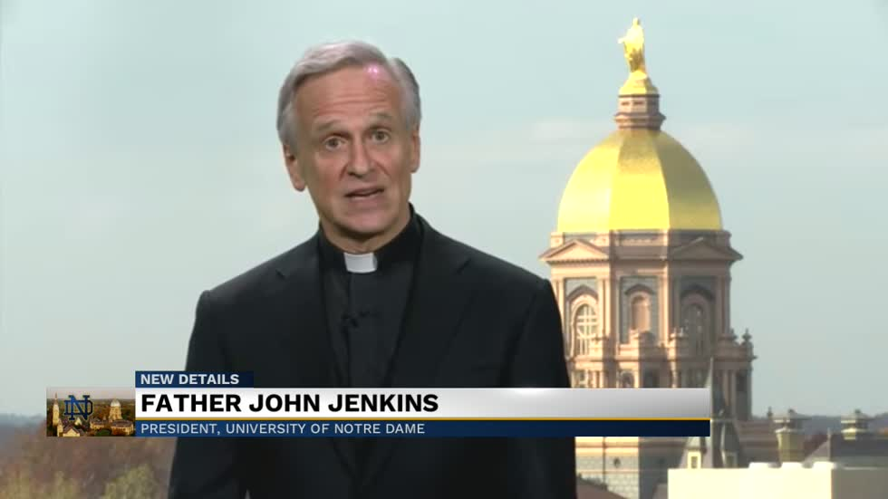 "Notre Dame Faculty Senate votes a motion of ""disappointment"" for Father Jenkins"